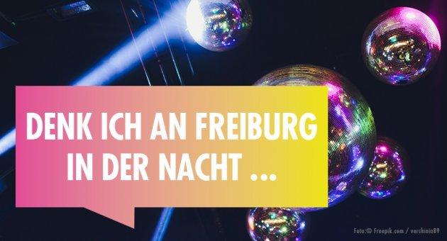 Denke ich an Freiburg in der Nacht, Kultur, Kunst, Disco, Licht, subculture Magazine