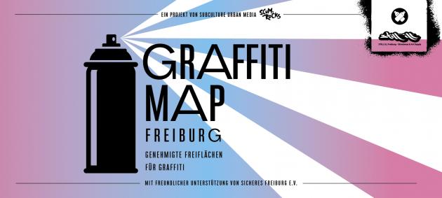 Graffiti-Map Freiburg
