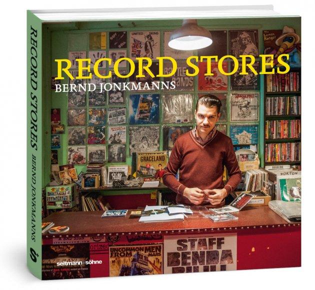 Bernd Jonkmanns, Plattenläden, Los Angeles, New York City, Stockholm, Amsterdam, Tasmanien, 600 Abbildungen, Bildband, Nerd