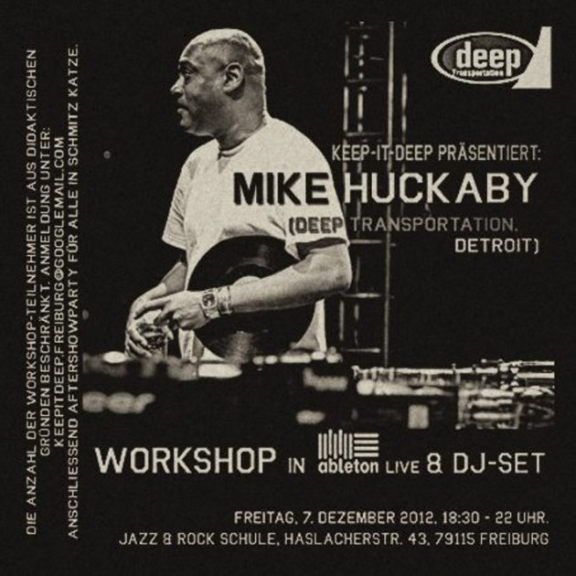 Ableton Live Workshop with Mike Huckaby