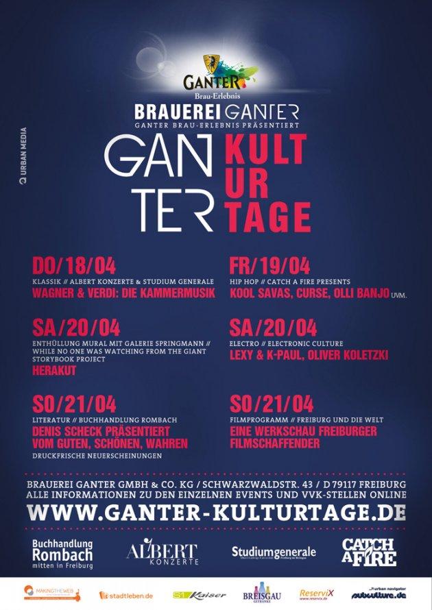 Ganter Kulturtage