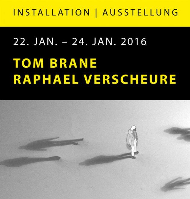Installation, Ausstelung, Tom Brane, Raphael Verscheure, Sein und Nichtsein