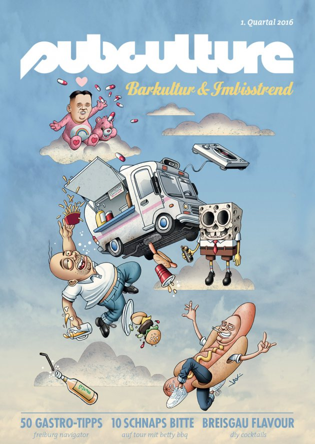 subculture, cover, freiburg, barkultur & imbisstrend, #SCQ01, magazin