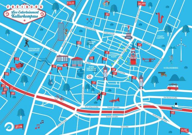 subculture citymap - livemusik & bühnenshow