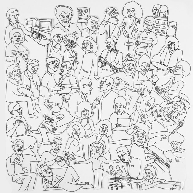 Romare, Projections, Album, Cover, new, subculture