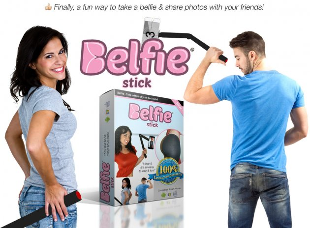 Belfie Stick, Finally a fun way to take belfie & share photos with your frreinds!