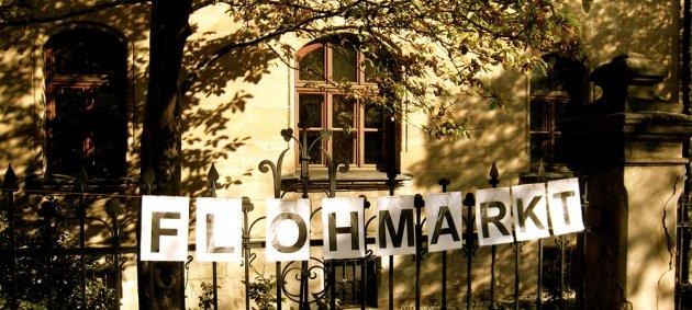 Flohmarkt, Freiburg, Sommer, sonne
