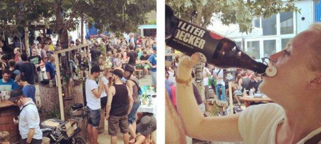 Decker, Bier, Frau, Flasche, menschen, Instagram Filter, Craftival
