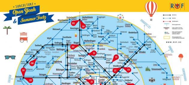 subculture, Summer Feetz, RVF Liniennetzplan, Tipps, Dein Ticket, dein Tag, www.rvf.de, www.semesterticket.de,
