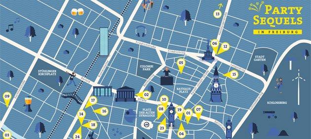 Party Sequels, Freiburg, Feiern, Ausgehen, Spaß, Musik, Live, Bühne, Show, Stühlinger, Rathaus, Schlossberg, Stadtgarten, Innenstadt
