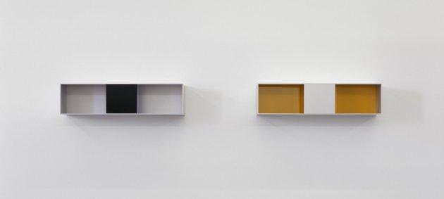 Untiteld, Donald Judd, Bernahrad Strauss, PEAC, Freiburg, Museum, Innenansicht