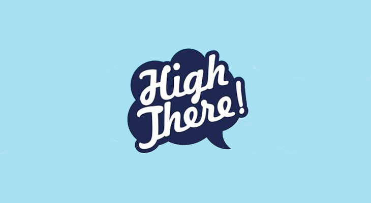 how to use high there app
